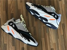 Wholesale Cheap Slips - 2018 Cheap Boots Sports Shoes Kanye West Wave Runner 700 Running Shoes Mens Women Fashion Basketball Shoes Free Streetwear