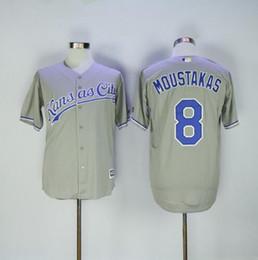 Argentina # 16 ROYALS BO JACKSON # 35 Eric Hosmer # 13 Salvador Perez # 8 Mike Moustakas # 4 gordon Camiseta de béisbol Suministro