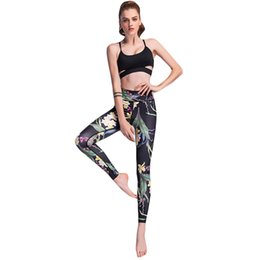 f389c417b13 2019 New Fashion Sexy Women Slim Leggings Floral Print Casual Fitness Skinny  Pencil Pants Trousers Black