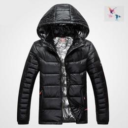 Wholesale Puffer Jacket Men - 2018. High Quality New Winter men's Down puffer jacket Casual Brand Hoodies Down Parkas Warm Ski Mens Coats 616