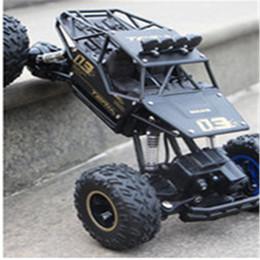 Canada alliage voiture de jouet contrôlée à distance, buggy cascadeur résistant aux chocs, 2.4G quatre roues motrices escalade Bigfoot racing K0368 Offre