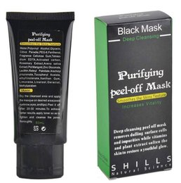 shills deep cleansing black mask Coupons - Black Suction Mask Anti-Aging 50ml SHILLS Deep Cleansing purifying peel off Black face mask Remove blackhead Peel Masks