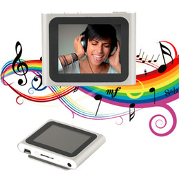 медиапроигрыватель mp4 Скидка Portable Size 1.8 Inch LCD Screen Display 6th Generation Music Media Video Movie FM Radio MP4 Player Easy Carry