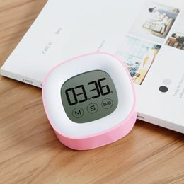 Wholesale Digital Display Clock Countdown - Kitchen clock large screen touch timer intelligent electronic clock reminder LCD digital display positive countdown function