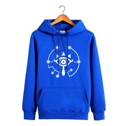 Wholesale Legend Zelda Hoodie - High-Q Unisex The Legend of Zelda Link Cotton Pullovers Hooded Hoodie Coat Sweatshirt Preppy Zelda Link Casual Hoodie Coat