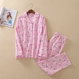 Autumn Winter Warm Pyjamas Women Sleepwear Female Foral Pajamas Sets Plus  Size Home Suits Sleep Lounge Pajamas For Women Adults 5aff44f31