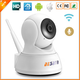 Wholesale mini audio surveillance - BESDER Home Security IP Camera Wi-Fi Two Way Audio SD Card Slot Mini Surveillance CCTV Camera Wireless 720P 1.0MP Baby Monitor