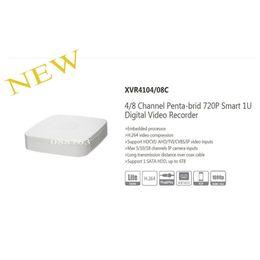 Wholesale dvr channels dahua - Free Shipping DAHUA NEW Product 4 8 Channel Penta-brid 720P Smart 1U Digital Video Recorder without Logo XVR4104C XVR4108C