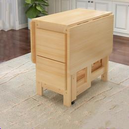 Juego de mesa de comedor plegable de madera maciza de alta calidad Mesa de  comedor multifuncional Plegable Desk Folding Esstisch