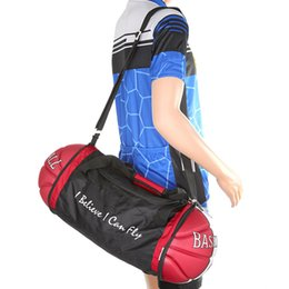 Cool Unisex Basketball Shape Gym Duffel Bag for Home Outdoor Sport Travel  Vacation BB55 51f5439445b68