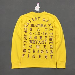 Wholesale street style clothing - Hot Men pullover clothing Kanye West I Feel Like Pablo Season Hip Hop Hoodies Free Shipping Street Style Sweatershirts