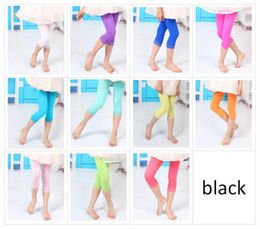 Wholesale cute toddler leggings - Baby Girls Velvet Lace Tights Thin Toddler Summer Leggings Socks Kids Candy Color Leggings Girls Fashion Summer Cute Dress Sock