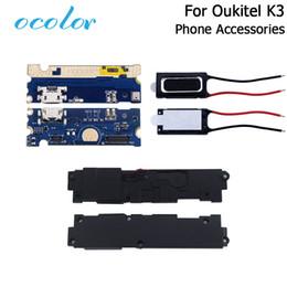 Sprecher k3 online-Empfänger ocolor für oukitel k3 lautsprecher empfänger ohrhörer usb ladekarte ersatz ersatzteile für oukitel k3