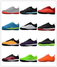 Wholesale Purple Spiked Heels - Top Mens Low heel Football Boots Mercurial Finale II TF Neymar JR Soccer Shoes ACC Mens Magista IC Indoor Soccer Cleats Football Boots