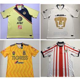 47c80f2323e Thai 18 19 chivas Guadalajara camisas de futebol Club America camisa de  futebol 2018 2019 camisa de puma Tigres UANL camisas de futebol