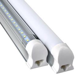 2019 nuove lampade fluorescenti 2FT 3FT 4FT tubo t8 led integrato Lampadine 85-265 V 10 W 14 W 18 W SMD2835 led illuminazione fluorescente