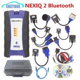 2018 El más nuevo NEXIQ 2 USB Link Diesel Heavy Duty Truck Herramienta de diagnóstico NEXIQ2 USB / Bluetooth USB Link Truck Set completo Mejor calidad desde fabricantes