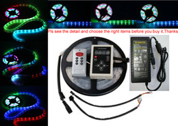 Power Remote 5M 16.4ft RGB 133 Dream color 5050 6803 IC Waterproof LED Strip