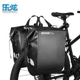 водонепроницаемая сетчатая ткань Скидка Оптовая 100% водонепроницаемый велосипед сумка руль Велоспорт сумка 20 л велосипед сумки аксессуары нейлон одно плечо назад ПВХ сетка ткань Ce