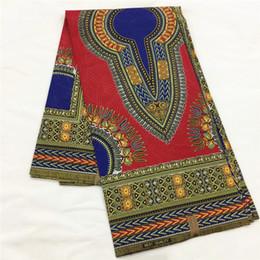печатная одежда Скидка 6yards африканская ткань печати воска dashiki для людей высокомарочный воск java хлопка напечатал ткани для материала одежды