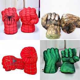 Wholesale Inflatable Green Ball - Boxing Glove Children Spider Green Plush Sports Toy Giant Fist New Year Spring Festival Gift Kid Hot Sale 14 5ye V