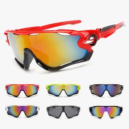 2019 ciclo óculos preto amarelo 2018 UV 400 Mountain Bike Óculos Bestselling Ciclismo Óculos Esportes Óculos De Sol Óculos De Bicicleta Drop Shipping Disponível