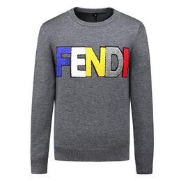 8deeb4a8edfdc 2019 suéteres de diseño femeninos Marca de los hombres suéter bordado  prendas de punto sudadera de