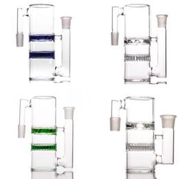 qualität wasser bongs Rabatt Thick Glass ashcatcher Hochwertige Waben- und Turbinen 14-14 18-18 Aschefänger für Glasbong-Wasserleitungen