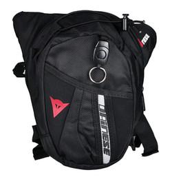 Bolsa pierna hombres online-2017 NEW Nylon Waist Pack Leg Bag Waterproof Waistpack Motorcycle Funny Drop Belt Pouch Fanny Pack Waist Belt Packs For Men