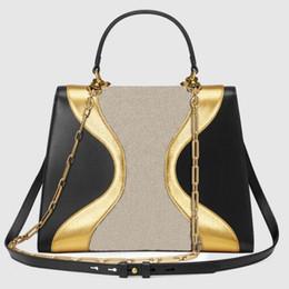 2018 новый стиль дизайнер сумки высокое качество кожа + холст мода женская сумка размер 30 см натуральная кожа сумка дамы сумки supplier designer womens canvas bags от Поставщики дизайнерские женские сумки