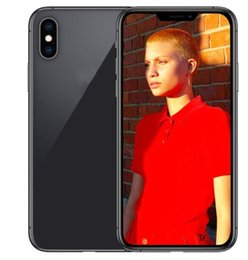 freigeschaltete quad-handy Rabatt ERQIYU Goophone Xs Max Touch ID Dual-SIM-Handys freigeschaltet Octa Core gezeigt 4G LTE 6G RAM 256GB ROM GPS-Smartphones