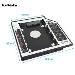 "Wholesale Enclosure Dvd - kebidu 2.5"" 2nd 12.7mm SSD SATA to Sata Hard Disk Drive HDD Caddy Adapter Bay External 3.0 Case Enclosure For DVD Laptop"