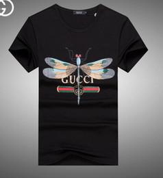 Wholesale goose down women - Brand new Hip Hop winter men's t-shirt Short Sleeve 100% Cotton poloshirt shirt men teel hip 3g Designer mens g t shirts 234