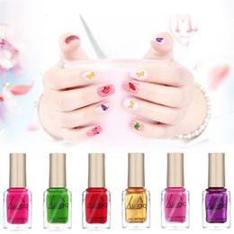 Canada LULAA 12 couleurs métallisé vernis à ongles couleur pure 6ml effet miroir brillant vernis à ongles en métal vernis à ongles DHL Offre