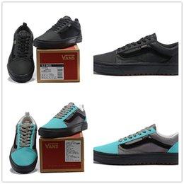 Wholesale Sports Tex - 2018 GORE-TEX x Vans Vault Mens GORE TEX Black Grey Blue Casual Skateboard Shoes for Men Sneakers Women Sports Running Shoe