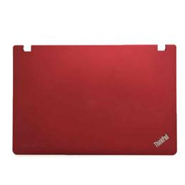 Fundo do laptop on-line-Laptop Bottom Shell 04W3272 para Lenovo ThinkPad E520 E525 Tampa Traseira Tampa Traseira Vermelho 04W1844 04W3266 Preto 04W1843 04W3265 LCD Bezel 04W1843