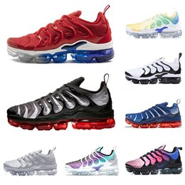 2019 menthes sportives Nike air vapormax TN plus Nouvelle mode VM TN Plus BE TURE chaussures de course pour hommes menthes sportives pas cher