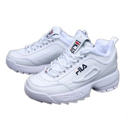 deportivo Shoe de Plus Net de Thicken Marca Velvet zapato FILA diseñador neto Rebajas Shoes lujo fSpdwzazqx