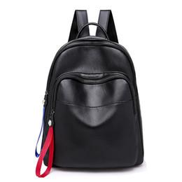 3067be3a3002a Neue Reise Rucksack Für Weibliche Mode Band Reißverschluss Jugend Mädchen  Studenten Schule Rucksack Frauen Umhängetasche Mochilas