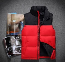 Wholesale thick mens coats - 2018 Classic Brand THE Men Wear Thick Winter Outdoor Heavy Coats Down Jacket mens jackets Clothes s-xxl 60 vest