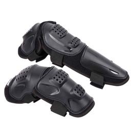 ginocchiere per armature Sconti Sport Sport Motocicletta Motociclismo Ciclismo Set pattinaggio Ginocchia di sicurezza Protezione parastinchi per protezioni