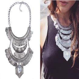 ab5ef5598287 grandes collares de bisutería Rebajas Collar de moda colgante de las  mujeres 2016 joyería de Cachemira