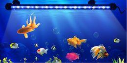 led-streifen für aquarium Rabatt 110 V 220 V LED-Röhrenbirne 19 cm 29 cm 39 cm 49 cm LED-Starrstreifen Bar Light RGB Dive Unterwasserleuchte Aquarium Dekoration Lampe LLFA