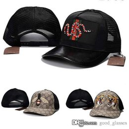 patterned snapbacks Coupons - Fashion Bee Tiger Baseball Cap Snake Men  Women Brand Designer Sports G 080946665f6