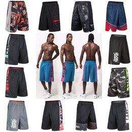 Wholesale Step Fit - Erwin cross step Basketball Training Shorts summer sports shorts male speed dry loose fit running pants