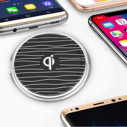 Wholesale Custom Cellphone - QI Wireless Phone Charger Charging Adapter Dock Station For Android Cellphone New Arrival DHL Free ZA469401