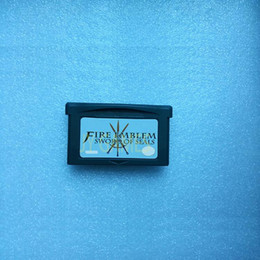 Wholesale video cards pc - LOT   50 PCS HOT SALES VIDEO GAME CARD : Fire Emble Sealed Sword USA version HOT SALE many people buy