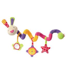 Canada Gros-nouveau bébé jouets bébé berceau tourne autour du lit poussette jouer jouet voiture tour suspendu bébé hochets mobile 0-12 mois cheap infant car toys wholesale Offre