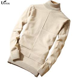 Wholesale Korean Men Winter Wear - 2018 New Casual Men's Wear Winter Korean Fashion Man Rendering Unlined Garment Self-cultivation High Lead Sweater