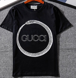 Wholesale Cat Street - Top quality Summer Cotton T-Shirts tee bee cat head print streets Luxury black white 10 style